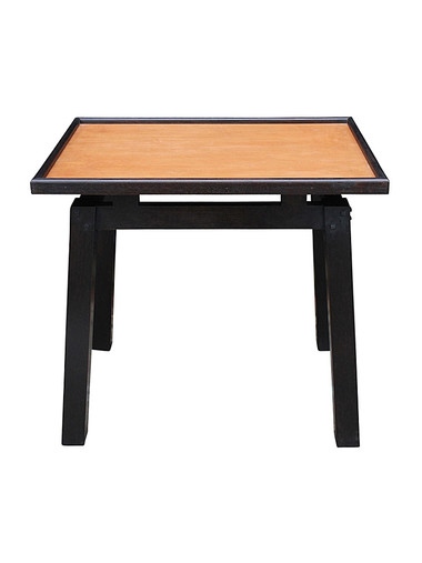 Limited Edition Walnut and Leather Side Table 29799