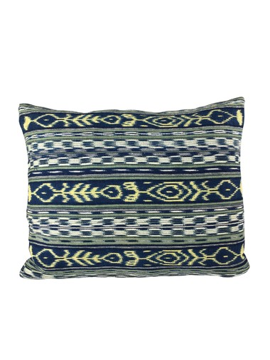 Vintage Indonesian Textile Pillow 24109