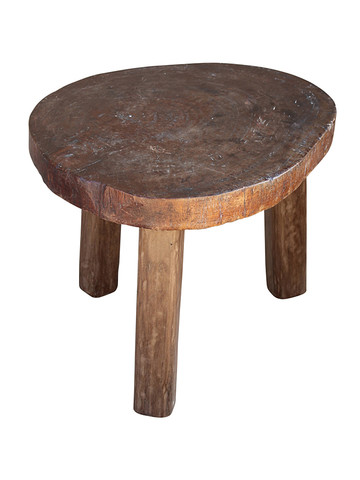 Antique African Wood Stool 30244