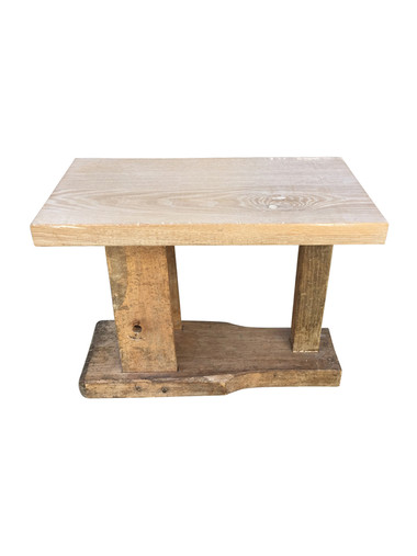 Limited Edition 19th Century Wood Element Side Table 33838