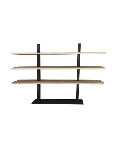 Limited Edition Oak and Steel Etagere 36232