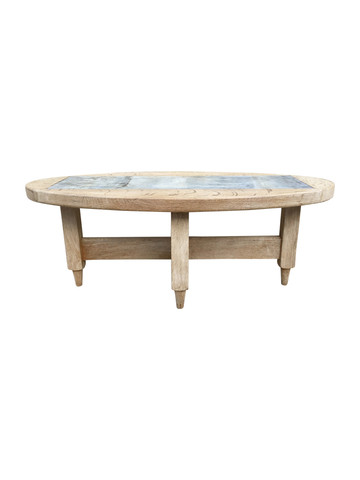 Guillerme et Chambron French Oak Coffee Table 33724