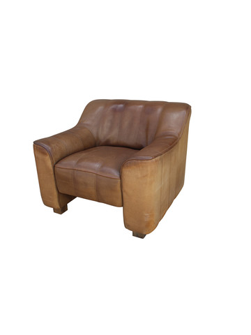 Single Leather DeSede Arm Chair 32982