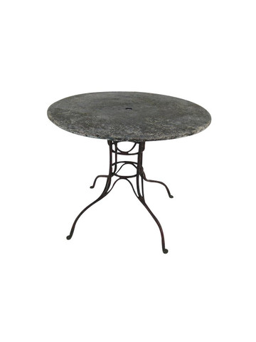 French 19th Century Metal Garden Table 34552