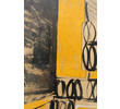 Mid Century French Abstract Painting 26711