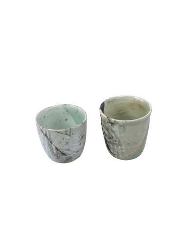 Two Stoneware Cups 19771