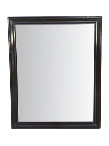 19th Century Ebonized Mirror 35063