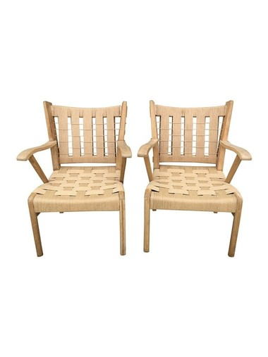 Lucca Studio Franc Arm Chairs 31597