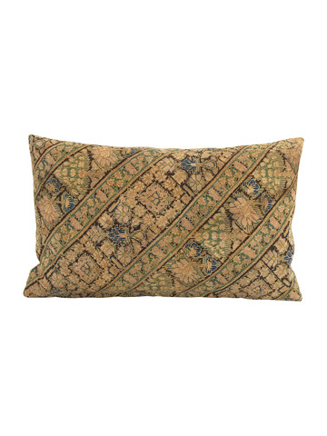 Limited Edition Rare Turkish Textile Embroidery Pillow 34289