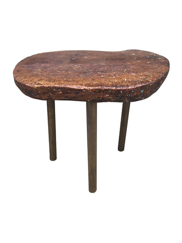 French Primitive Side Table 31673