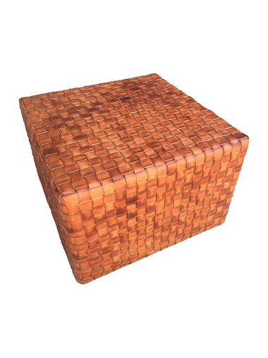 Lucca Studio Toby Leather Cube 32737