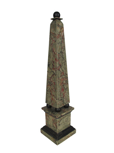 Swedish 19th Century Wood Obelisk 31819
