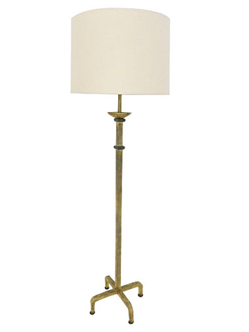 French Gilt Metal Floor Lamp 24663