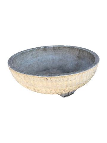 French Mid Century Cement Planter 31059