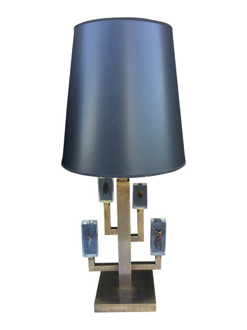 Limited Edition Bronze Lamps with Encased
