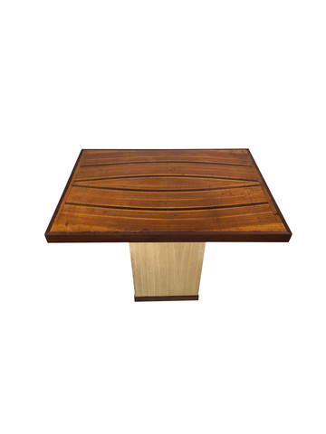 Lucca Limited Edition Table: inlay top and oak base 35628