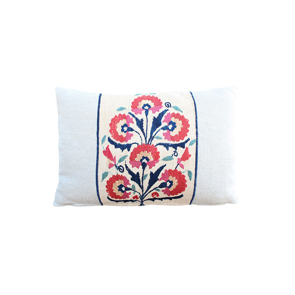 18th Century Turkish Embroidery Pillow 31771