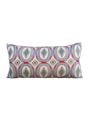 Limited Edition Embroidery Lumbar Pillow 34222