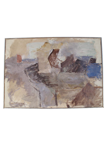 Danish Abstract Oil Painting 32191