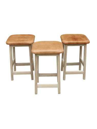 Set of (3) Lucca Studio Graham Stools 30881
