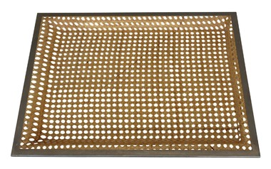 French Cane & Lucite Tray 29469
