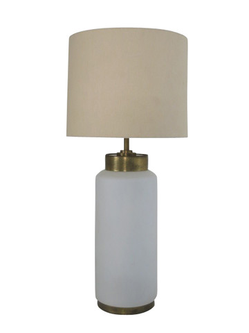 French Opaline Table Lamp 18188
