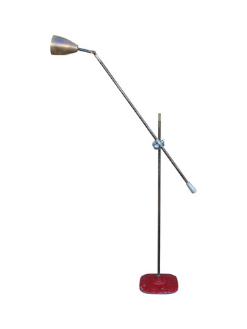 French Industrial Floor Lamp 26737