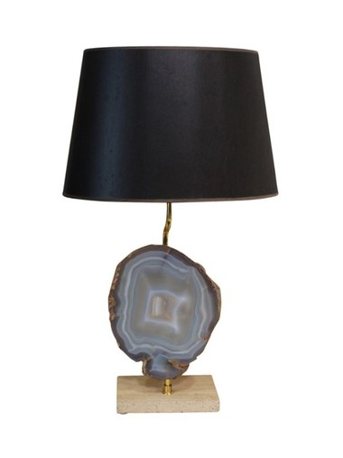 French Blue Onyx Lamp 23537