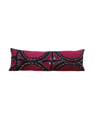 Antique Suzani Textile Pillow 23117