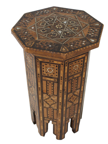 19th Century Moroccan Side Table 32447