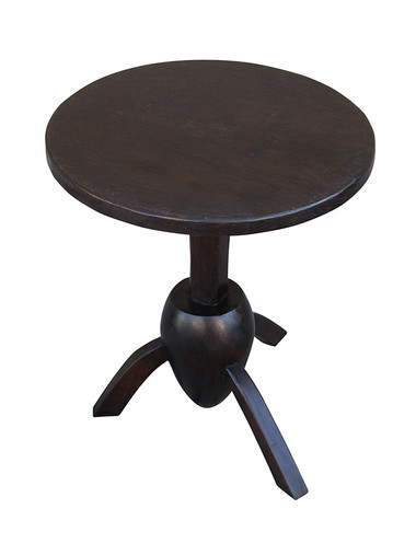 Limited Edition Ebonized Wood Side Table 32471