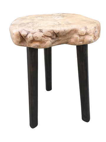 French Primitive Wood Side Table 35535