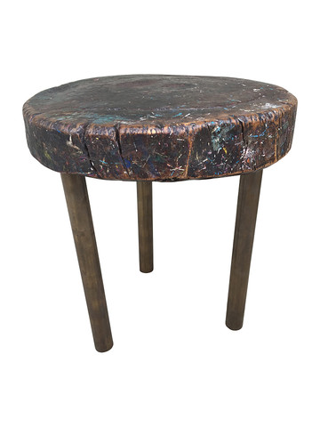 French Primitive Side Table 31027