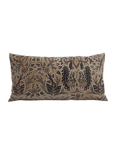 Limited Edition Block Print Textile Pillow 34194