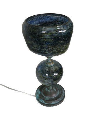 Unique French Art Glass Lamp 15709