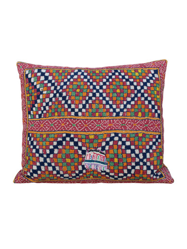 Vintage Turkish Textile Pillow 26879