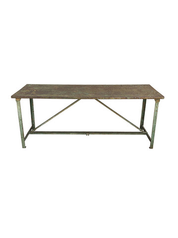 French Iron Garden Table 32127