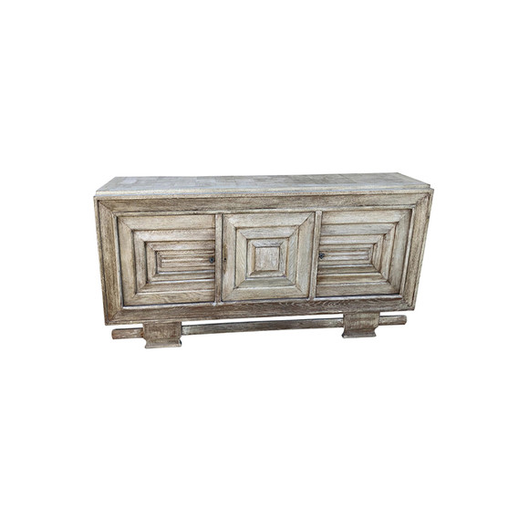 Exceptional French Oak Buffet 34566