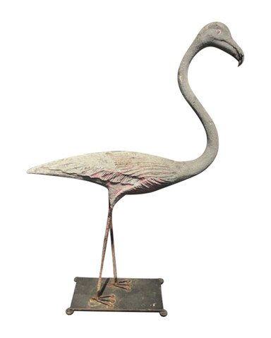 Mid Century French Cement Bird 35708