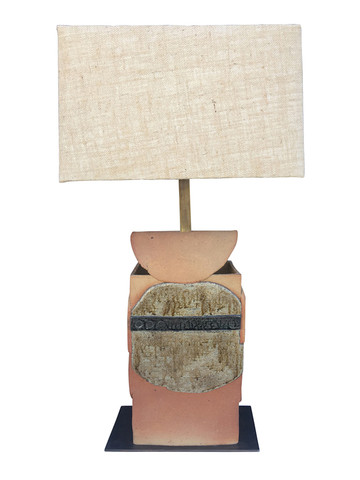 Large Scale Handmade Ceramic Lamp 32356