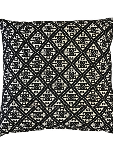 Antique Central Asia Tribal Embroidery Textile Pillow 35773