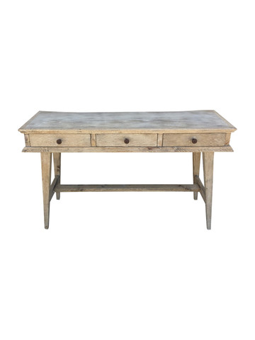 Oak Console with Drawers 38418