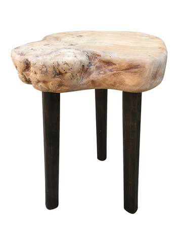 French Primitive Wood Side Table 35533