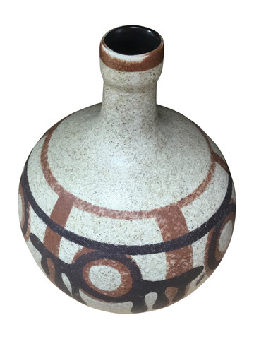 French Mid Century Ceramic Vase 34666