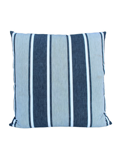 19th Century French Stripe Textile Pillow 26506