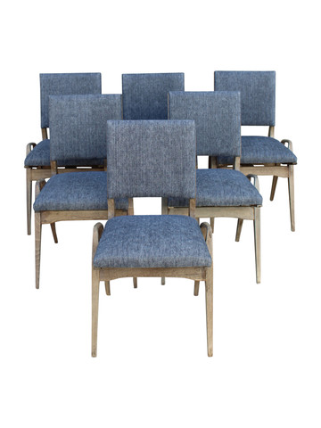 Set of (6) French Dining Chairs 36650