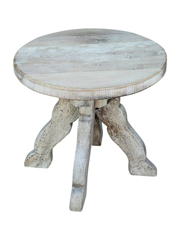 French Oak Side Table 33493
