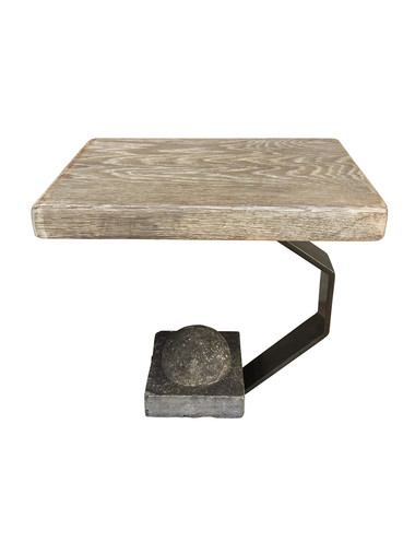 Limited Edition Oak Top Side Table 34762