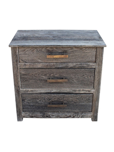Limited Edition Cerused Oak Commode 23886