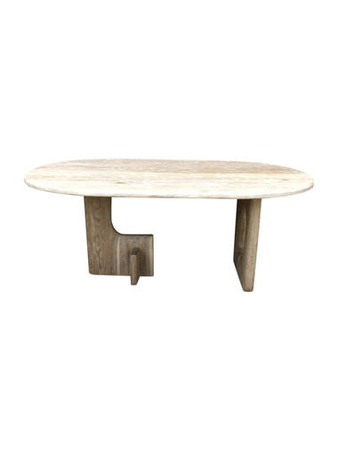 Limited Edition Oak Modernist Base Dining Table 35561